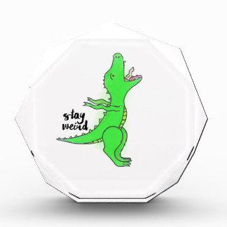 Aufenthalt sonderbares T-Rex Acryl Auszeichnung