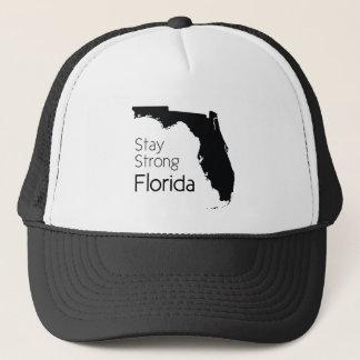 Aufenthalt starkes Florida nach Hurrikan Irma Truckerkappe