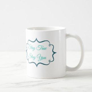 Aufenthalt-wahrer Aufenthalt Sie Kaffee-Tasse Kaffeetasse