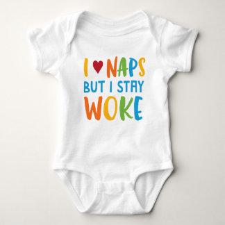 Aufenthalt weckte Säuglings-Bodysuit-Einteiler Baby Strampler