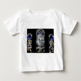 Auferstehung des Jesus-Buntglas-Fensters Baby T-shirt