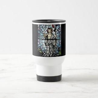 Auferstehung des Jesus-Buntglas-Fensters Reisebecher