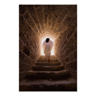 Auferstehung des Jesus Christus Plakat