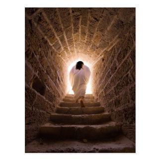 Auferstehung des Jesus Christus Postkarte