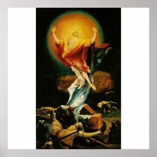 Auferstehung von Christus - Plakat - weißer