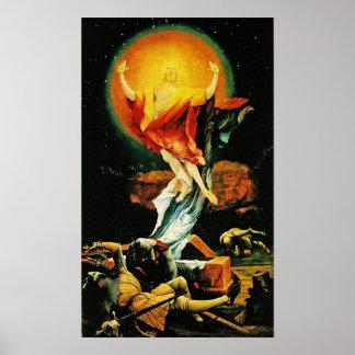 Auferstehung von Christus Plakat