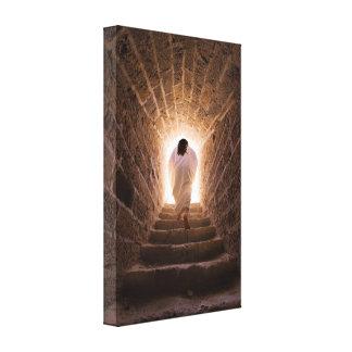 Auferstehung von Jesus Christus wickelte Leinwand Druck