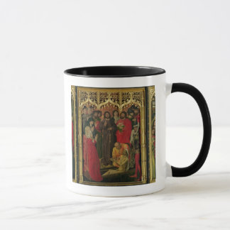 Auferstehung von Lazarus-Triptychon; Das Anheben Tasse