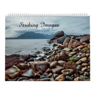 Auffallender Bild-Kalender Abreißkalender