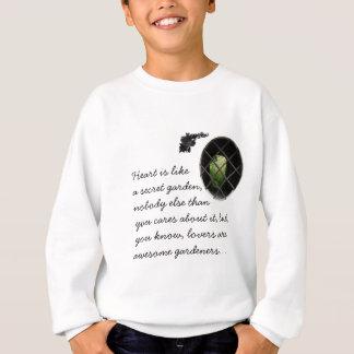 Aufgefangener Garten Sweatshirt