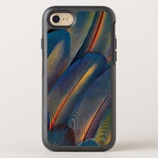 Aufgelockertes heraus Scharlachrot Macaw-Feder- OtterBox Symmetry iPhone 8/7 Hülle