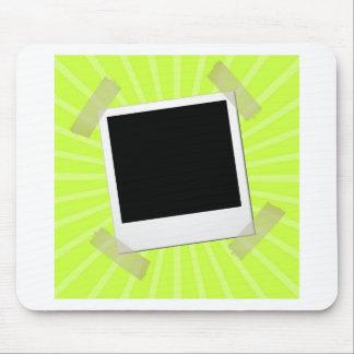 aufgenommen auf grünem Hintergrund Mousepads