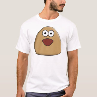Aufgeregtes Pou T-Shirt