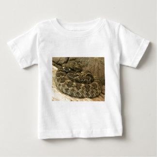 Aufgerollte Schlange Baby T-shirt