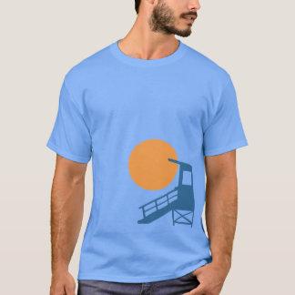 Aufgeteilte Grafik Neptun T-Shirt