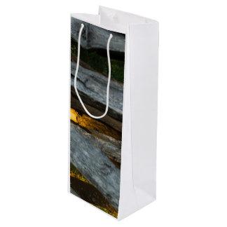 Aufgeteilte Schiene abstrakt Geschenktüte Für Weinflaschen