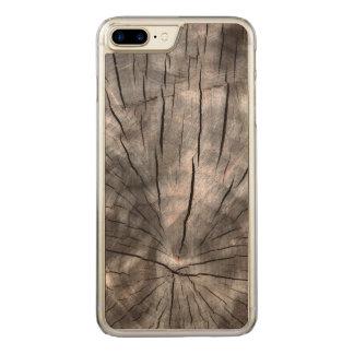 Aufgeteilter Klotz Carved iPhone 8 Plus/7 Plus Hülle