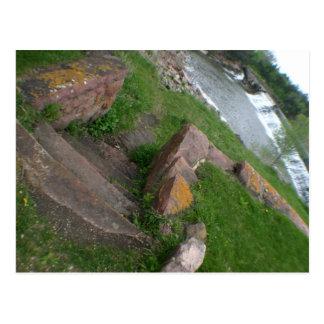 Aufgeteilter Rock- CreekStaats-Park Garretson, Postkarte