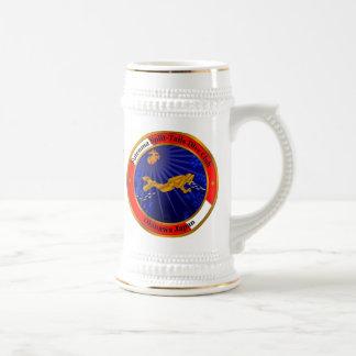 Aufgeteilter Schwanz-Tauchen-Verein Bierglas