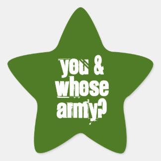 Aufkleber 20-Pack: Armee