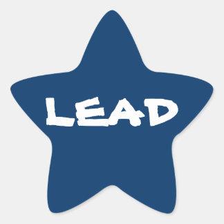Aufkleber 20-Pack: Führungs-Störsender-Stern