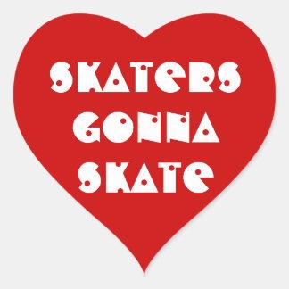 Aufkleber 20-Pack: Skater