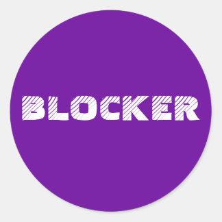 Aufkleber 6 - oder 20-Pack: Blocker