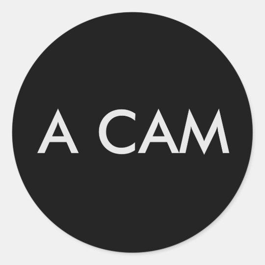 AUFKLEBER # A CAM