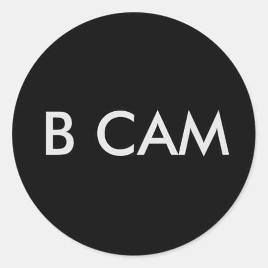 AUFKLEBER # B CAM