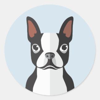 Aufkleber Bostons Terrier