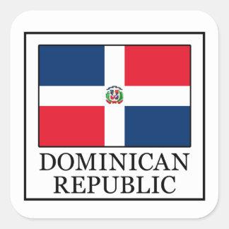 Aufkleber der Dominikanischen Republik