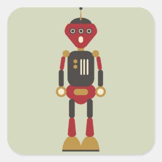 Aufkleber des Roboter-3-Eyed