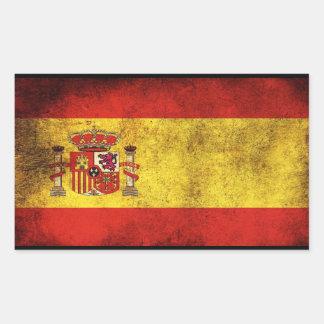 aufkleber Flagge von Spanien
