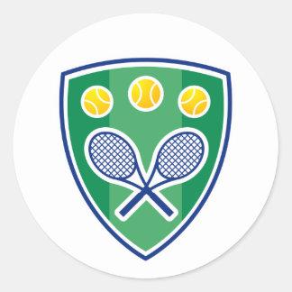 Aufkleber für Tennisspieler