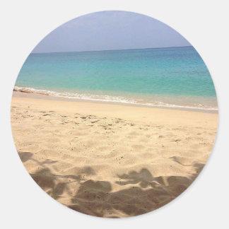 Aufkleber großartiger Anse Strand, Grenada W.I