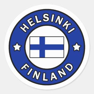 Aufkleber Helsinkis Finnland