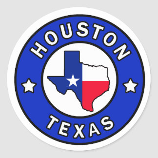 Aufkleber Houstons Texas
