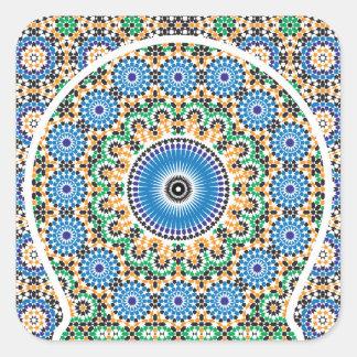 Aufkleber in der marokkanischen Art