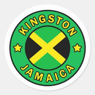 Aufkleber Kingstons Jamaika