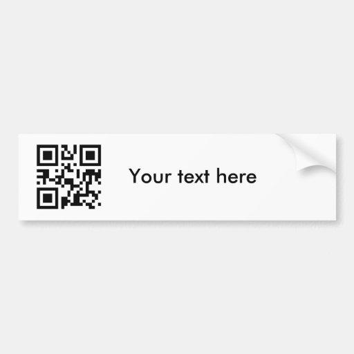 Aufkleber (kundenspezifischer Text) Autosticker