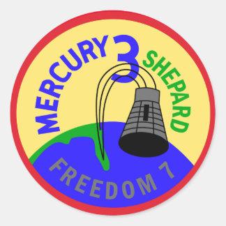 Aufkleber Mercurys 3