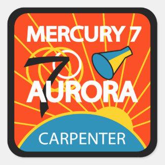 Aufkleber Mercurys 7