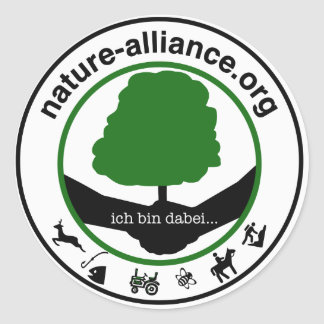 Aufkleber Nature alliance