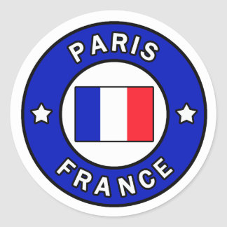 Aufkleber Paris Frankreich