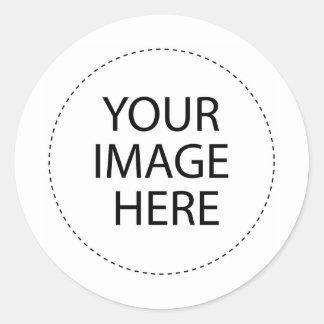 Aufkleber-Schablone Runder Aufkleber