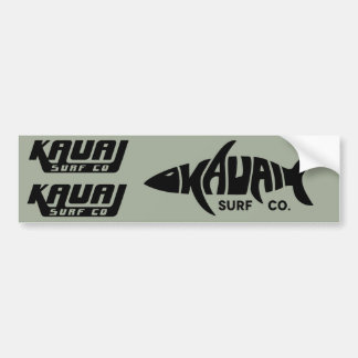 Aufkleber-Set Kauai-Brandungs-Co. Autoaufkleber