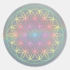 "Aufkleber Sticker ~Healing~Energy ""Flower Of Life"""