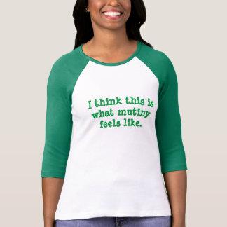 Auflehnung T-Shirt