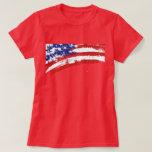Auflösenamerikanische Flagge Shirt