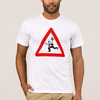 Aufmerksamkeits-Kellner-Zeichen, Österreich T-Shirt